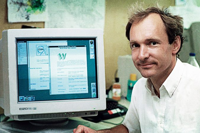 Tim Berners-Lee inventor of internet