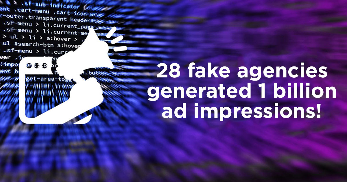 28 fake ad agencies